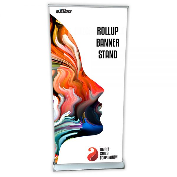 LUXURY ROLL UP BANNER STAND
