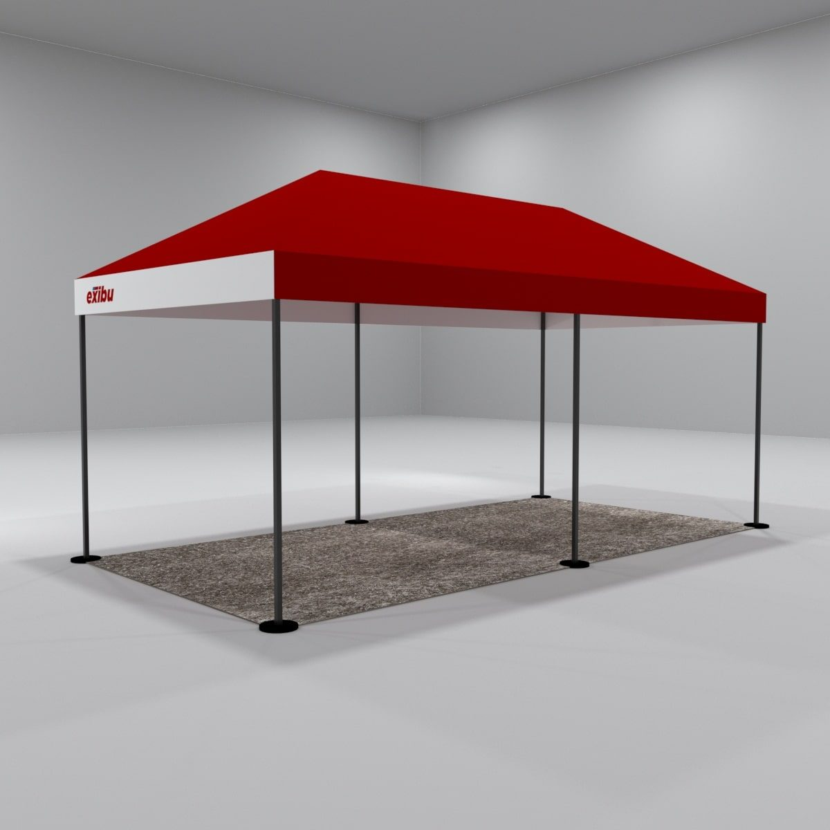 Kit 2 – 3X6 M Gazebo With Facia Printing